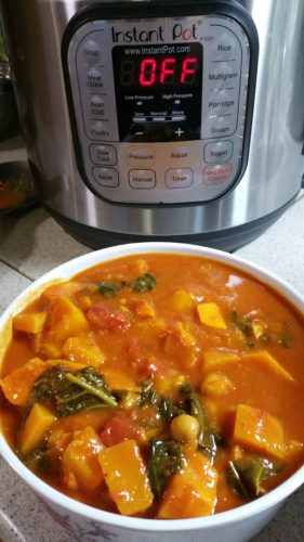 Butternut squash sweet potato stew recipe